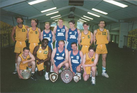 Abbeydale 1 and 2 1993/94 Division 1, 2, Cup & Plate Winners